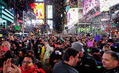 Reveillon na Times Square será online
