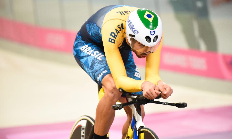 Jogos Parapanamericanos Lima 2019 Ciclismo de Pista Contrarelógio Classe C5 Lauro César Mouro Chaman conquista Ouro.