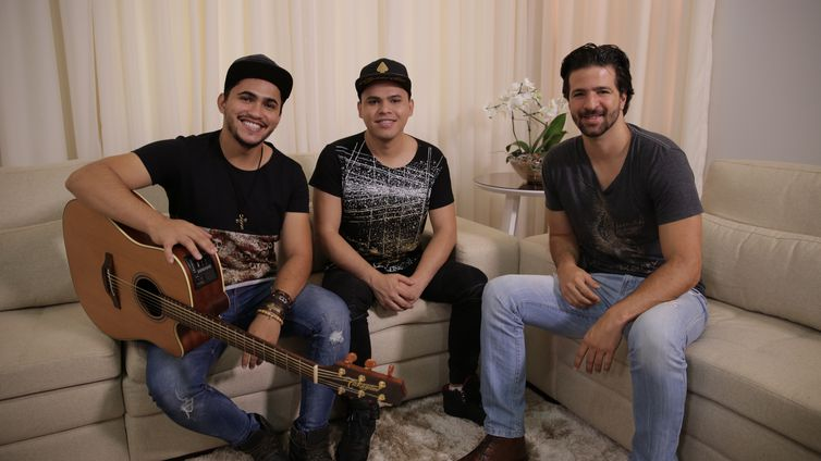 Samuel Deolli & Davi batem um papo com Maurício Pacheco