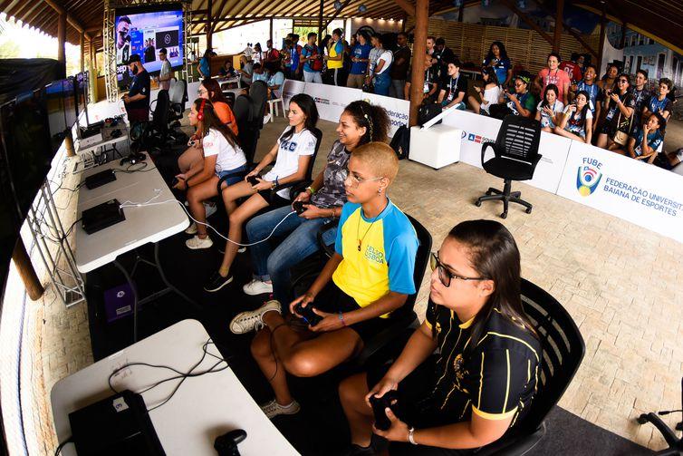 23/10/2019 - BRASIL / SALVADOR - 67º Jogos Universitários Brasileiros (JUBs) Etapa Final - Jogos Eletrônicos FIFA Gran Hotel Stella Maris Saulo Cruz/Light Press/CBDU
