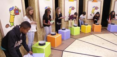 Pintando a Sétima Arte promove oficina de animação com crianças