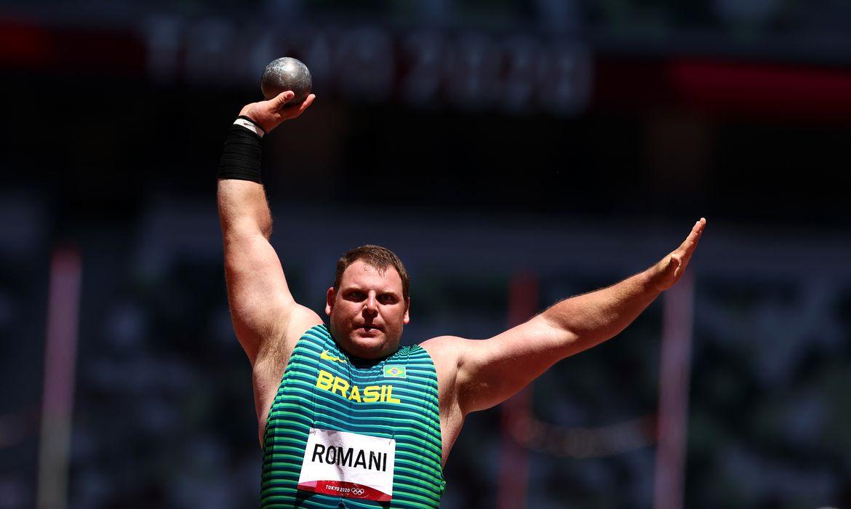 darlan romani, atletismo, lançamento de peso, tóquio 2020, olimpíada