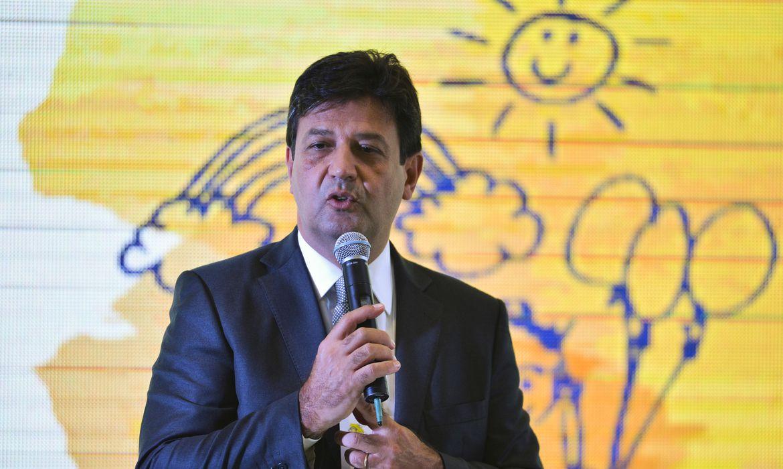 O ministro da Saúde, Luiz Henrique Mandetta, participa do Seminário Internacional da Primeira Infância - O Melhor Investimento para Desenvolver uma Nação, no Centro Internacional de Convenções do Brasil (CICB), em Brasília.