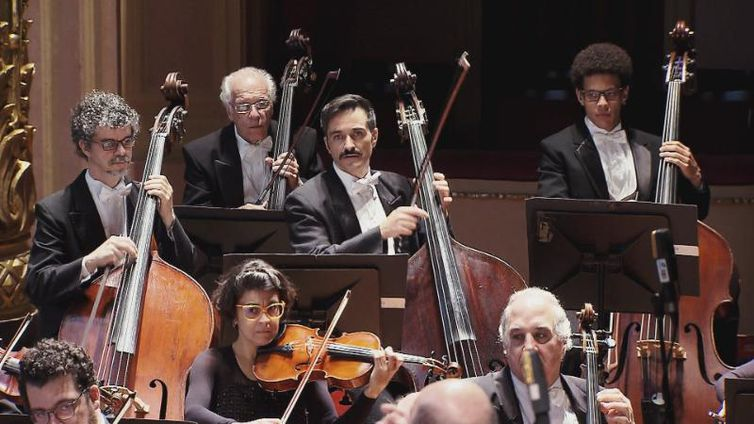 Concerto da OSB foi gravado no Teatro Municipal do Rio de Janeiro
