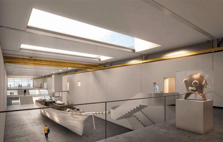 Marinha define projeto arquitetônico do Museu Marítimo do Brasil