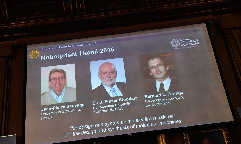 Prêmio Nobel de Química - Henrik Montgomery/Lusa