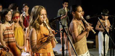 Flautistas da Pró-Arte. Cláudia Ernest Dias - Divulgação