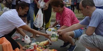 ONG brasileira entrega mais de 40 mil cestas básicas durante pandemia
