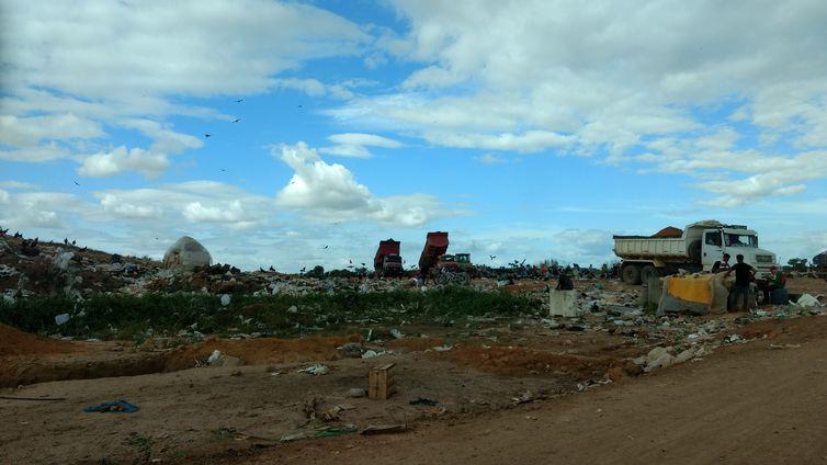 Lixão em Roraima