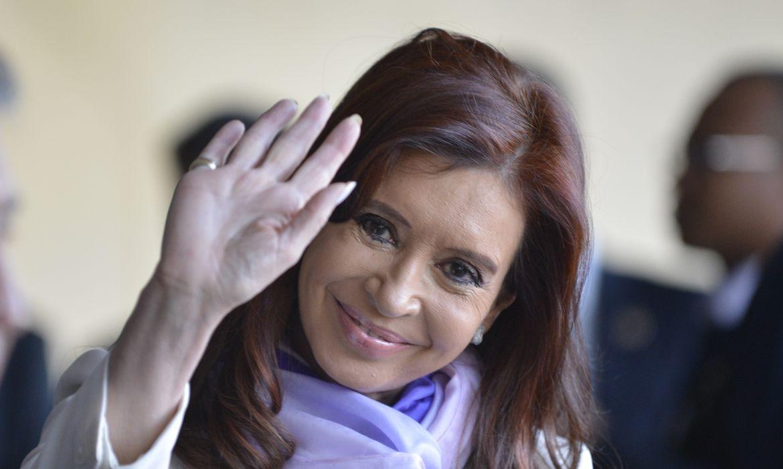 A ex-presidente da Argentina, Cristina Kirchner, durante visita ao Brasil (José Cruz/Agência Brasil)
