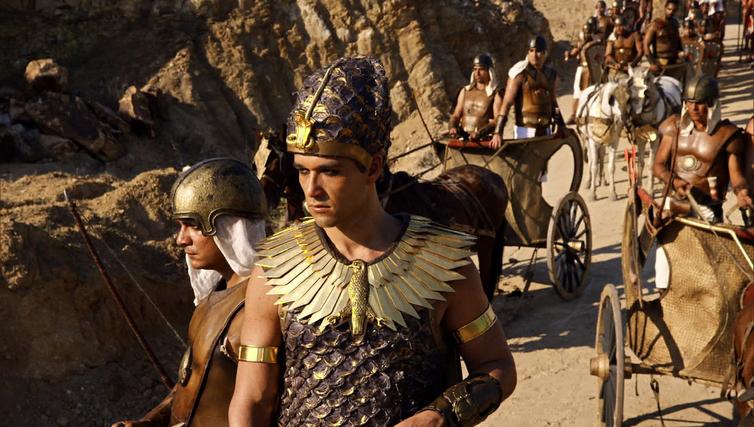 Ramsés reúne o exército para ir atrás dos escravos