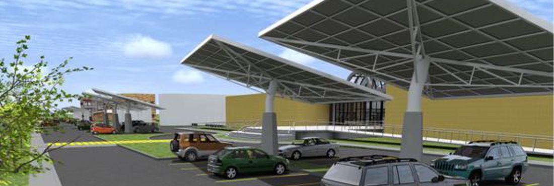Estacionamento solar da UFRJ gera energia que pode abastecer 70 casas