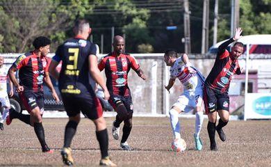 Real Ariquemes e Porto Velho empatam em 1 a 1 no primeiro jogo da final do estadual 2021, em 07/07/2021