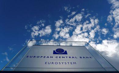 Fachada do Banco Central Europeu em Frankfurt, na Alemanha
