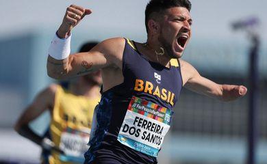 atleta Petrúcio Ferreira