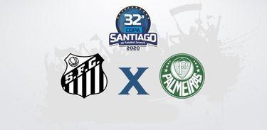 Santos (SP) e Palmeiras (SP) se enfrentam pela Copa Santiago