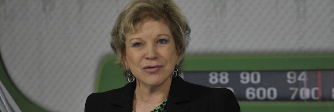 A ministra da Cultura, Marta Suplicy, participou do Bom Dia, Ministro, nesta quinta-feira (17)