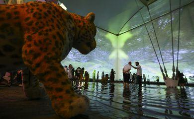 Pavilhão Brasil na Expo Dubai 2020.