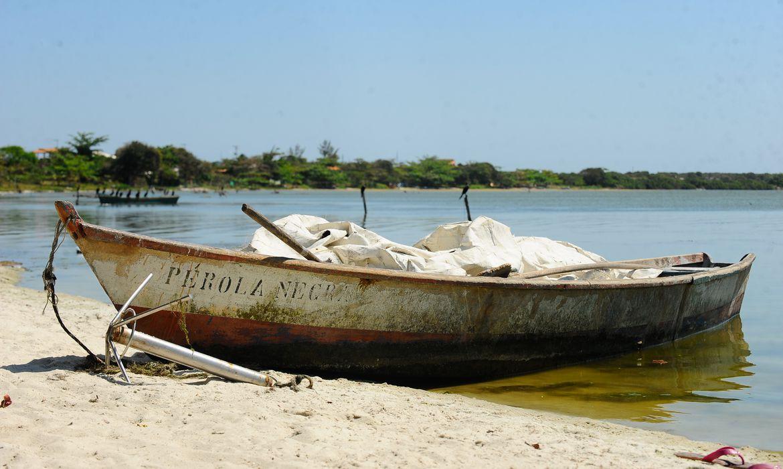 APA de Maricá na Região dos Lagos. Comunidade pesqueira de Zacarias. Um grande empreendimento imobiliário está previsto para a região (Tânia Rêgo/Agência Brasil)