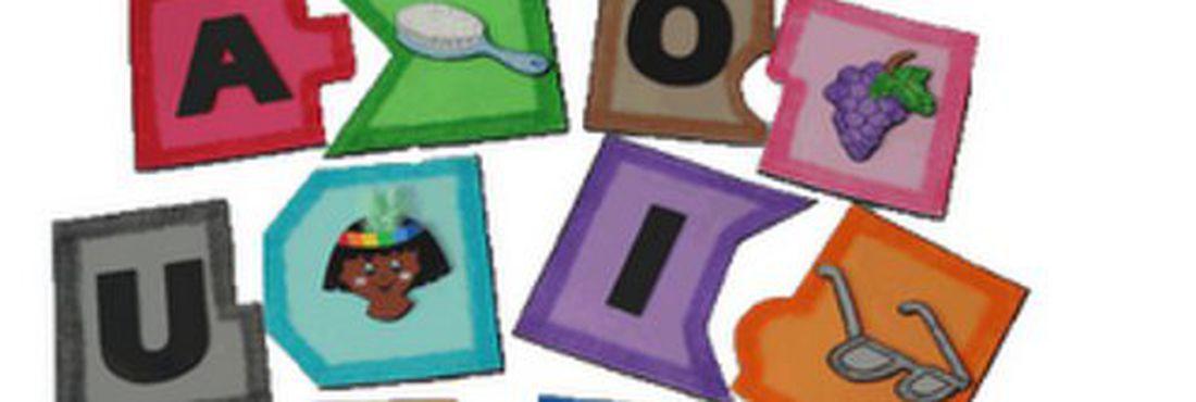 Que tal montar um quebra-cabeças bem colorido? A ideia também pode ser usada para números e quantidades. Fonte: http://bit.ly/10Wjj0y