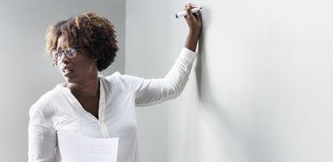 Professora negra
