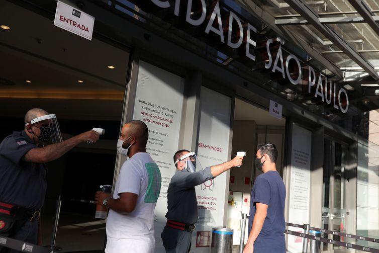Reabertura do comércio, São Paulo, shoppings