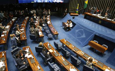 Brasília - Plenário do Senado aprovou projeto que cria o Plano Nacional de Enfrentamento ao Homicídio de Jovens com metas de redução da violência (Fabio Rodrigues Pozzebom/Agência Brasil)