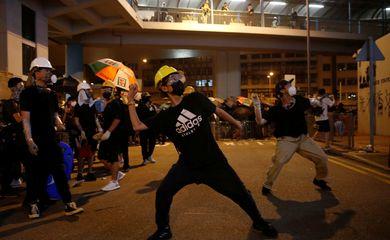 Metrô, Hong Kong, Protestos. REUTERS/Edgar Su