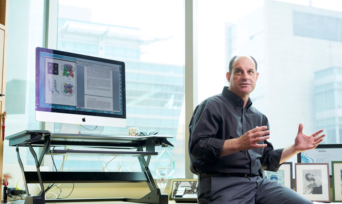 Professor David Julius of UCSF Department of Physiology