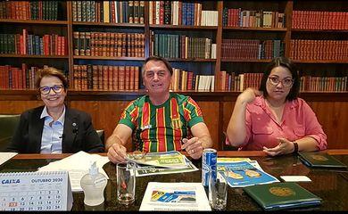 Live da semana Presidente Jair Bolsonaro, 29/10/2020