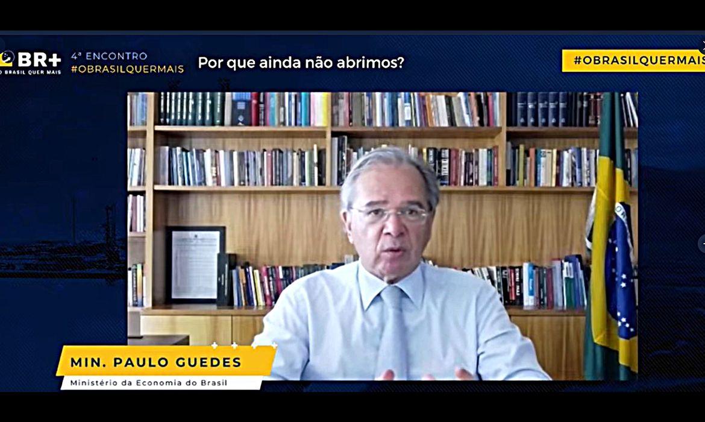 Ministro Paulo Guedes,4º Encontro 'O Brasil Quer Mais
