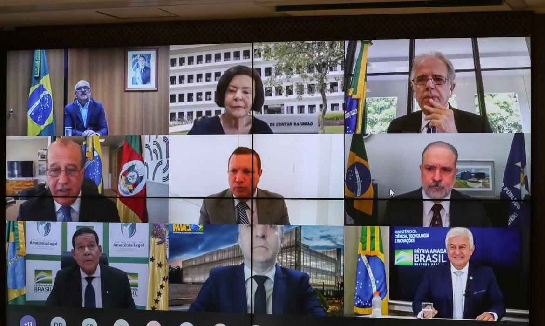 4º Fórum Nacional de Controle,Jair Bolsonaro,videoconferência, TCU
