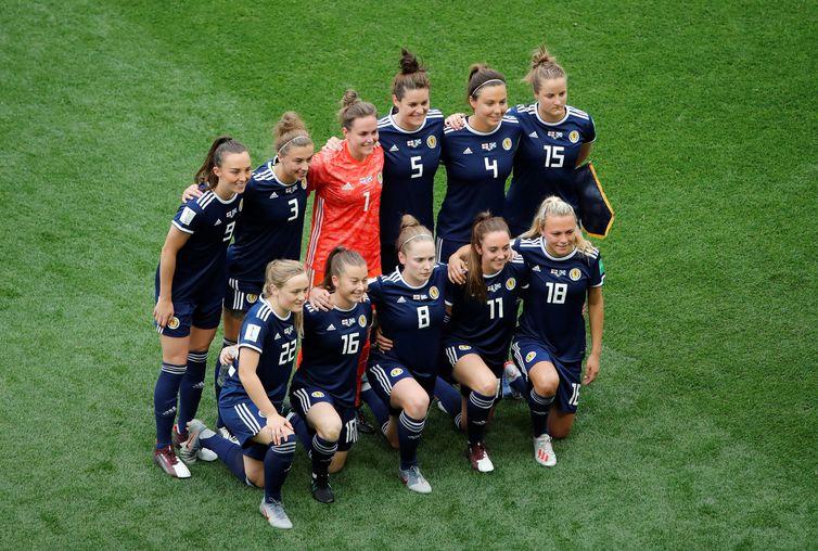 Seleção da Escócia na Copa do Mundo de Futebol Feminino - França 2019.