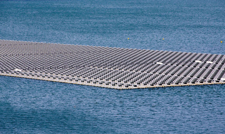 energia solar flutuante