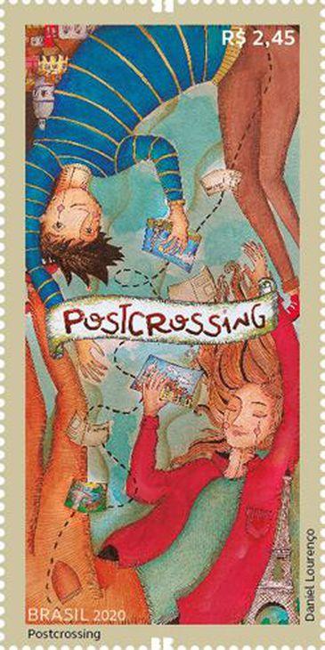 Os Correios lança hoje (14), na forma de selo, uma homenagem aos adeptos do chamado Postcrossing,