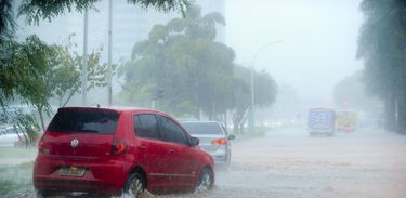 Chuva no Distrito Federal