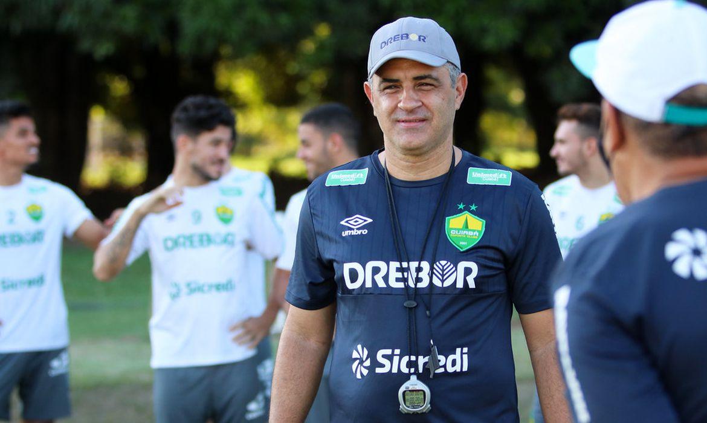 Marcelo Chamusca é o novo técnico do Cuiabá. 11/11/2020
