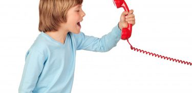 George ficou com raiva do telefone