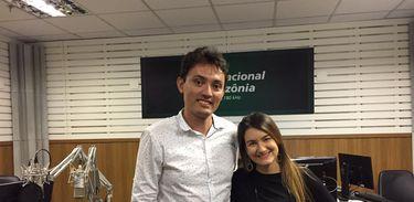 Cláudio Paixão e Juliana Maya