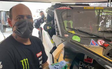 Ednei Galvão quer o bi no Dakar