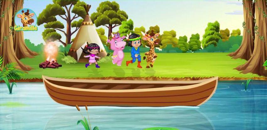 TV Brasil estreia animação musical infantil Giramille