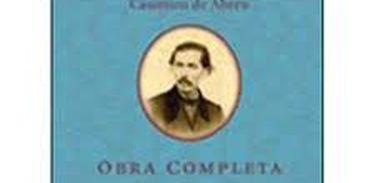 Capa livro obras completas Casemiro de Abreu