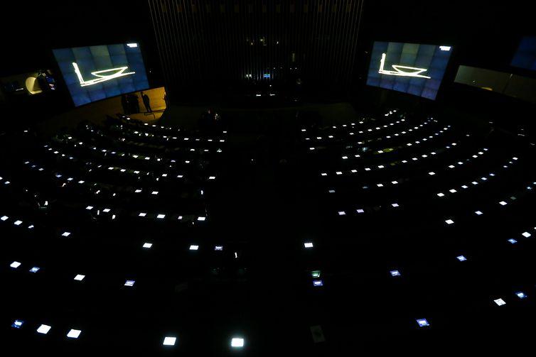 Brasília: Partes do Congresso Nacional ficaram sem energia por volta das 12h de hoje (11). (Foto: Marcelo Camargo/Agência Brasil)