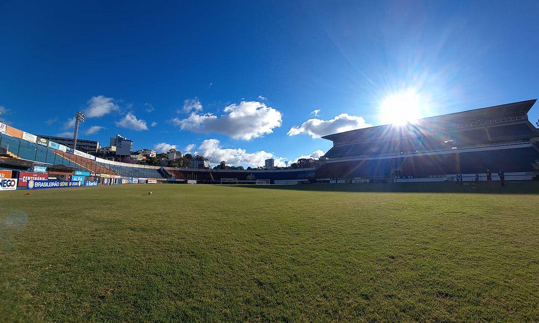 O estádio Centenário, em Caxias do Sul (RS), recebe o primeiro jogo do confronto entre Caxias-RS e Mirassol-SP pela Série D de 2020