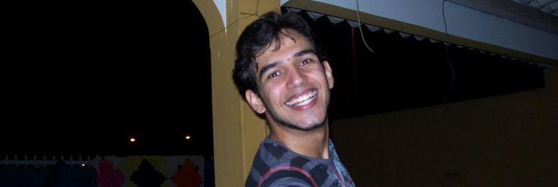 Lucas Fortuna, assassinado em Pernambuco