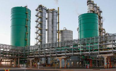Ortigueira (PR) - Inauguração da nova fábrica de celulose da empresa Klabin. A indústria fica em Ortigueira, no interior do Paraná (Isac Nóbrega/PR)