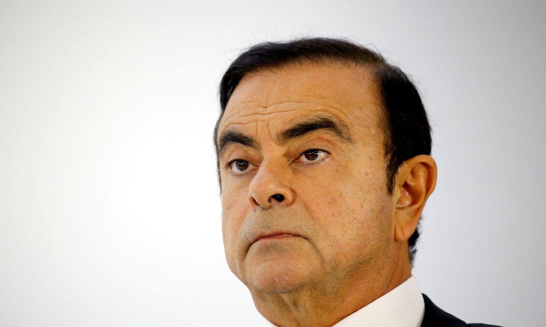 FILE PHOTO: Carlos Ghosn, chairman and CEO of the Renault-Nissan-Mitsubishi REUTERS/Regis Duvignau/File Photo