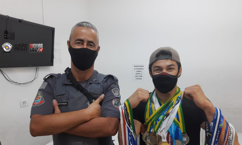 PMESP recupera medalhas olímpicas do ginasta Arthur Nory - 10/02/2021