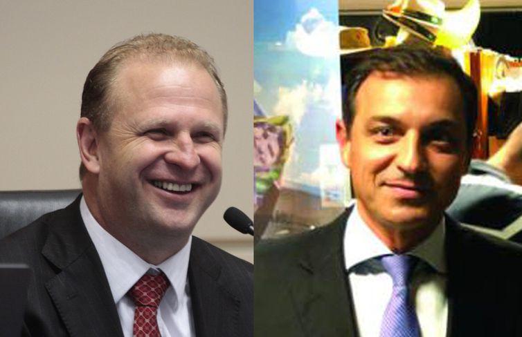 Os candidatos Gelson Merísio (PSD) e Comandante Moisés (PSL) disputarão o segundo turno das eleições em Santa Catarina.