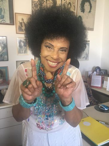 Eliana Pittman, cantora carioca que fez sucesso com o Carimbó